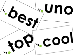 .cool, .best and .uno domains, and characterise your site!